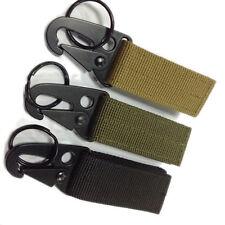 Backpack Survival Nylon Webbing Hook Carabiner Kit Gear clasp military Durable