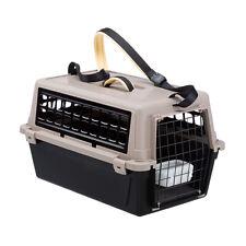 Trasportino cane gatto viaggio Ferplast Atlas Trendy Plus con tracolla 2 colori