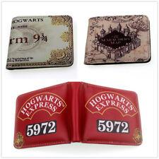 Men's Wallet Harry Potter Coin Wallet Bag Leather pu Wallet ID Card Holder Purse
