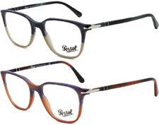 Persol Men's Italian Handcrafted Striped Gradient Eyeglass Frames - PO3203V