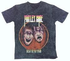 Motley Crue 'Theatre Of Pain' Puff Print T-Shirt - NEW & OFFICIAL!