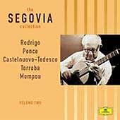 """the Segovia collection"" Volume 2 Sonata & Suite (ADD, Deutsche Grammophon 2003)"