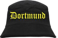 Dortmund Sombrero PESCADO PESCADOR Sombrero Gorro Bucket