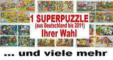 1 SUPERPUZZLE Deutschland bis 2011 Ihrer Wahl inkl. aller BPZ von Ferrero