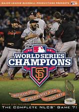 DVD: 2012 World Series Champions: San Francisco Giants, Major League Baseball. G