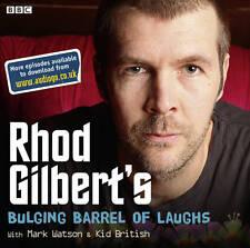 RHOD GILBERT,S--BULGING BARREL OF LAUGHS -- CD AUDIO BOOK NEW SEALED