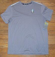 TekGear Cooltek Gray Short Sleeve T-Shirt Quick Dry Wicking Material