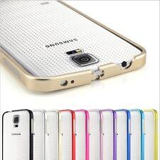 Samsung GALAXY s5 ALLUMINIO METALLO BUMPER GUSCIO Protettivo Per Cellulare Custodia Cover Posteriore