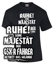 Biker T-Shirt SEINE MAJESTÄT DER GSX-R FAHRER 600 750 1000 1300 Tuning Spruch