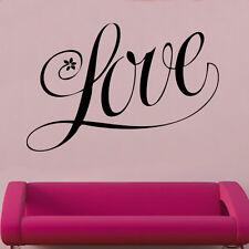 Love Design 1 Decal Vinyl Wall Sticker Art Home Sayings Popular Bedroom