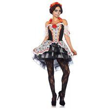 Dia de Los Muertos Costume Adult Sugar Skull Catrina Day of The Dead Halloween