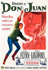 Adventures of Don Juan (DVD, 2007)  Errol Flynn NEW & SEALED