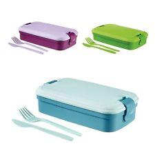 Contenitore di plastica porta pranzo Curver con posate