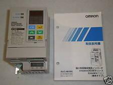 New! Omron Sysdrive 3G3EV-A2001 AC Inverter Drive NIB
