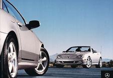 2004 Mercedes Benz SLK320 SLK32 AMG Sales Brochure Book