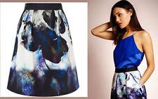 ex Coast Salia Floral Print A-Line Occasion Party Skirt