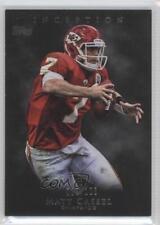 2011 Topps Inception Grey #18 Matt Cassel Kansas City Chiefs Football Card