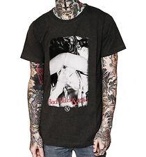 BOOM BAP Weed Herren T-Shirt grau Drug Dope T Shirt Herrenshirt Jersey kurz grey