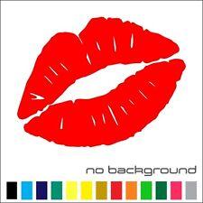 kiss this lips VINYL DECAL STICKER 1375-1