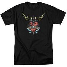 Bon Jovi Daggered Mens Short Sleeve Shirt Black