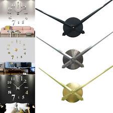 DIY Large Silent Quartz Wall Clock Movement Hands Mechanism Repair Parts Tool AC