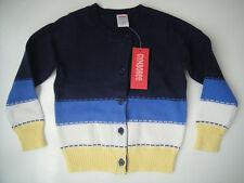 Gymboree NWT FLOWER SHOWERS Cardigan Stripe Sweater Blue Yellow 3 4 5 6 7 8 10