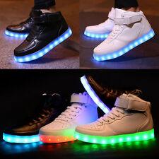 Neu LED Leuchtende Schuhe Farbwechsel Sneaker Blinkschuhe Kinder Jungen Mädchen