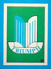 AUTO STEMMI MOTO-Ed.Imperia-Figurina/Sticker n.82-STEMMA TRIUMPH-Rec.