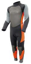 3 mm Kinder Neoprenanzug Lang Surfanzug Schwimmanzug orange  90 104 116 140
