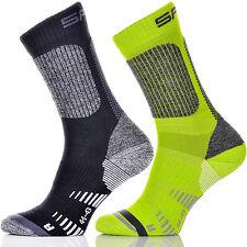 Spaio Trekking Socken aus Merino Wolle - anatomische Passform - warm - aktiv -