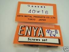 ENYA .SS40-.45 BUSHING TYPE CRANK  MODEL GASKET & SCREW SET NIP