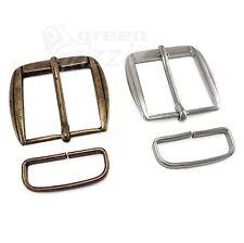 Half belt buckle and belt loop for 35 mm strap AUG+ALZ