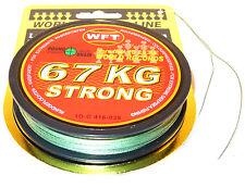 WFT NEW 15KG STRONG TRANS GEFLOCHTENE SCHNUR 0.12mm 600m,auch f NORWEGEN 0,12€//m