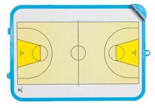 GIMER Lavagna piccola basket con cancellino senza penna bordi celesti cod.10/015