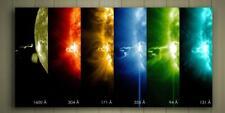 "SOLAR FLARES CANVAS POSTER SZ 10x20"" 20x30"" 30x40"" SPACE SYSTEM ASTRONOMY"