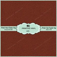 Football Texture Printed HTV, Adhesive Vinyl,Siser HTV, Oracal Vinyl-225