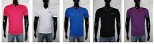 t shirt uomo maglia slazenger bianco nero blu rosa viola S  M  L  XL  XXL  XXXL