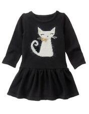NWT Gymboree CATASTIC Black Cat Sweater Dress 612 18 24,2T,3T 4, 5,6,7,8,10,12