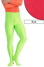 Herren Leggings mit Fuss rot Voltigierhose Glanz elastisch Größen S bis XL
