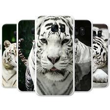 White Tigers Snap-on Coque Arrière Dur Housse De Téléphone Pour Samsung Téléphones Mobiles