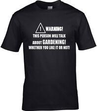 jardinería Camiseta Hombre Jardín Flores Show Allotment plantas exterior