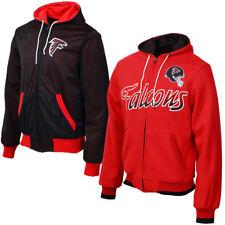 24327c127e48 NWT Atlanta Falcons Men s Game Time Reversible Full Zip Hoodie