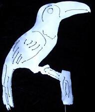 Toucan Tropical Rainforest Bird Metal Garden Art Stake