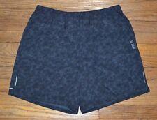 Fila Sport Trudry Running Shorts Mesh Pockets Quick Dry Black Tie Mens Short