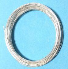 Silberdraht Feinsilber 999,9/1000 Ösendraht Echt Silber 0,5 bis 2,mm Massiev NEU