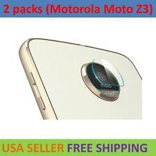 2-Pack For Motorola Moto Z3 Play Back Camera Lens Tempered Glass Film Protector