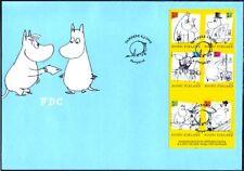 Moomin Troll Cartoons Booklet Finland FDC 2009