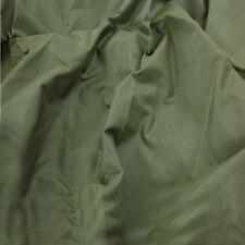 Tela de algodón Cera Antiguo-oliva al aire libre usa ropa chaquetas Barbour tipo