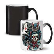WOLF DRAGO TESCHIO MODA NUOVO colore modifica Tè Tazza Da Caffè 11 OZ (ca. 311.84 g) | wellcoda