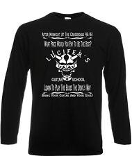 Robert Johnson Camiseta encrucijada Leyenda inspirado Para Hombre Manga Larga Delta Blues